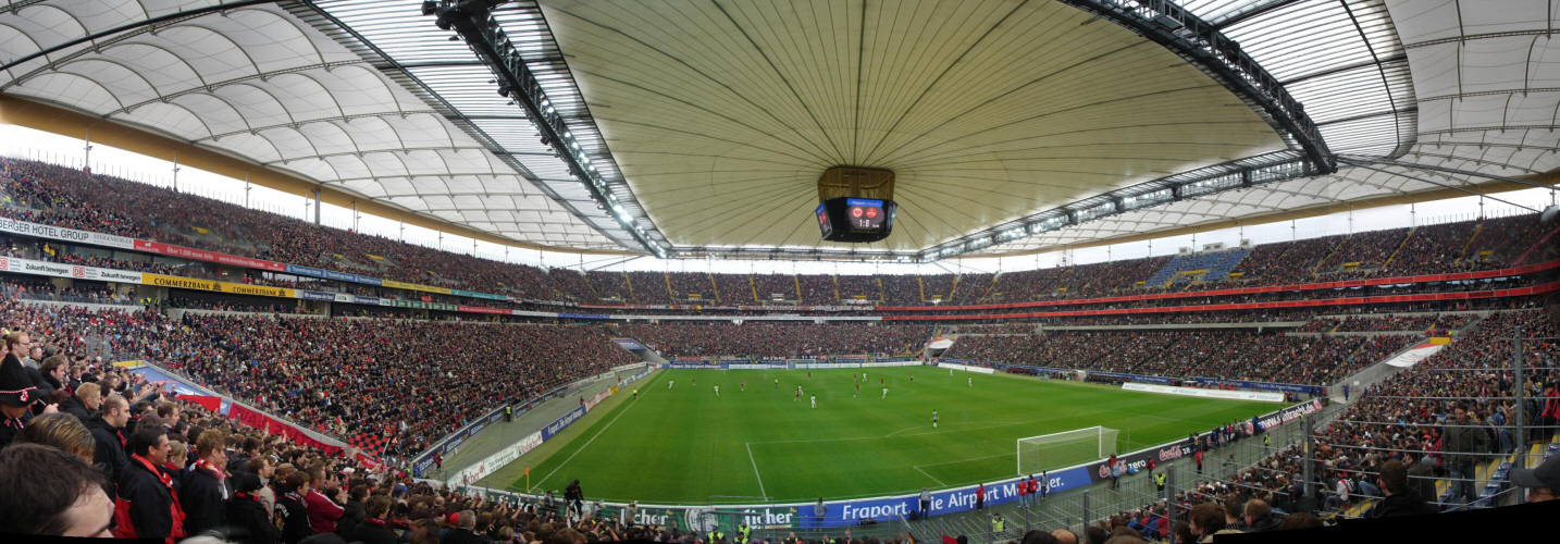 Frankfurter Eintracht - 1.FC Nürnberg in der Commerzbank-Arena