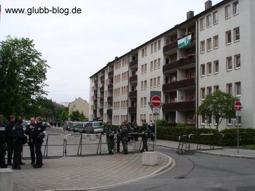Plattenbau Kleeblattstadt