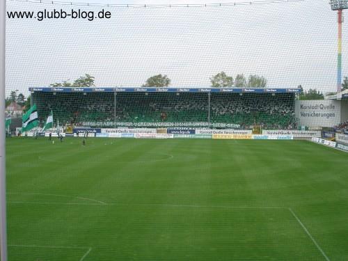 Choreo Fürth Franken-Derby gegen Nürnberg