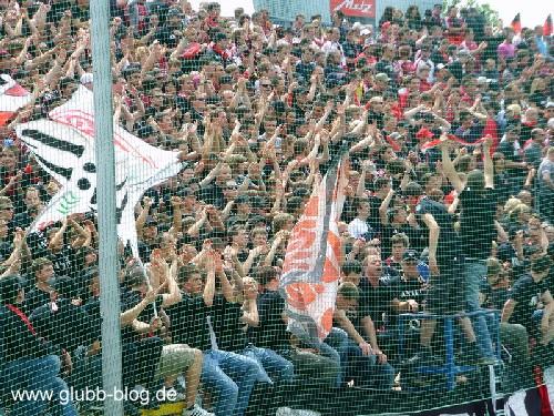 Clubfans in Fürth