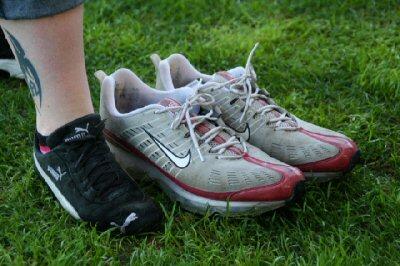 Schuhe von Jan Koller