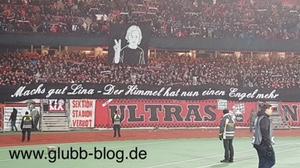Nordkurve Nürnberg trauert um FCN-Lina