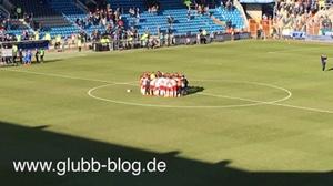 Bochumer Stadion beim Spiel gegen den FCN